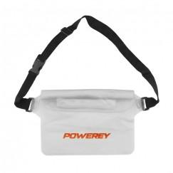 White 22 cm IPX8 Waterproof Belt Pouch
