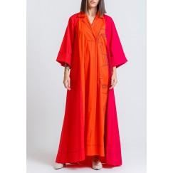 Faraya 3 Colors Embroidered Dress