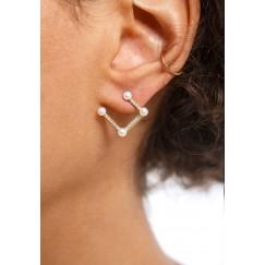 Diamond & Pearls Earrings