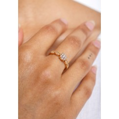 Tribal Diamond Ring