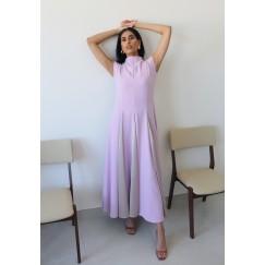 Lavender Purple sleeveless Kaftan