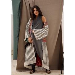 Striped Bisht