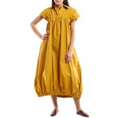 Sleeveless detailed dress