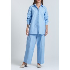 Blue Shirt & Pants Set