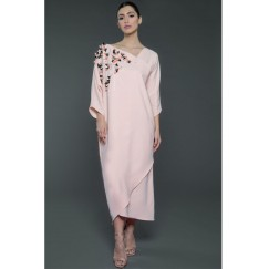 Embellished Kaftan Rose