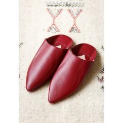 Badriyah leather babouche