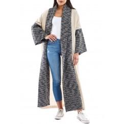Sala shawl collar bisht