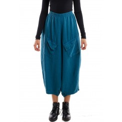 Pocketed sherwal blue