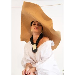 Wide Flooby Straw Hat