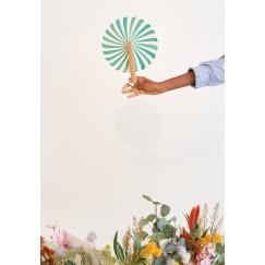 Natural Greene Hand Fan