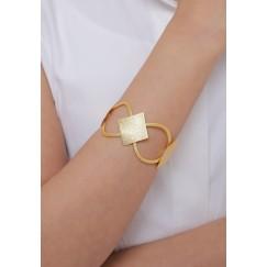 Linked Diamond Set Of A Handcuff & Ring