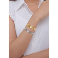 Gold & Silver Tone Set Of 2 Bracelets