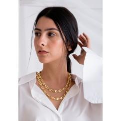 Golden-Tone Long Chain Necklace