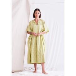 Light Green Short Sleeves Dress