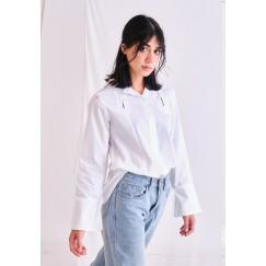 White Button-Through Shirt
