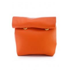 Orange Mini Warp Pouch
