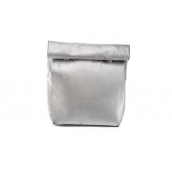 Silver Medium Wrap Pouch