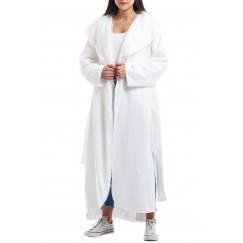White Reversible Coat