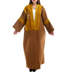 Oversized Square cut bisht