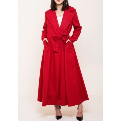 Long Coat red