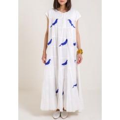 Blue Bird Kaftan