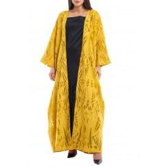 Layan yellow kaftan set