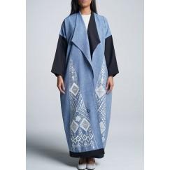 A Denim Blue Abaya