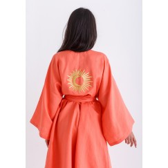 Limited Edition Peach Ramadan Robe