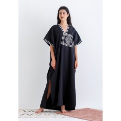 Morrocon Black Kaftan