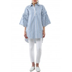 Baby blue stripes Shirt