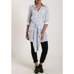White arrow print Shirt
