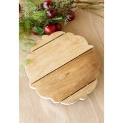 Romantic Wood Tray Small