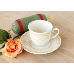 Sage Tea Cup With Saucer set of 12