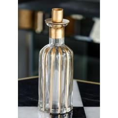 Bottle Candle Holder Stripe