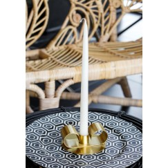 Tramonto -Gold Thin Candle