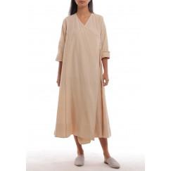 Fez Dusty Pink Buttoned Side Dress