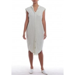 Lea Khadi light green Sleeveless Dress