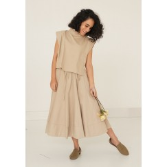 Kenton Beige Skirt Set