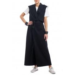 Black Wide Legged Pants & Crop Jacket Set