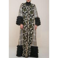 Tweed twist Bisht