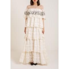 Precious creamy dress