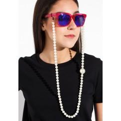 Big pearl sunglass chain