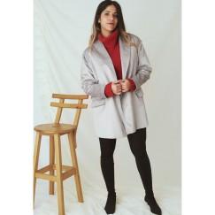 Masculine Silver Jacket