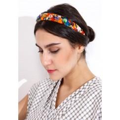 Zulu headbands orange