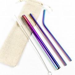 Strawsome rainbow set of 3