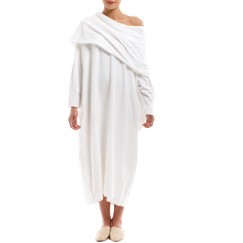 Terry the Artist white dress