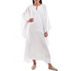 Oversized Pocket Kaftan Striped