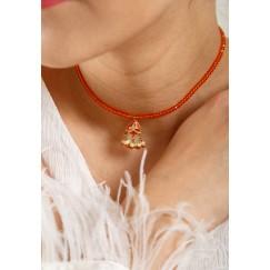 Jaipur orange crystals
