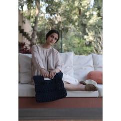 Croshet Bag blue