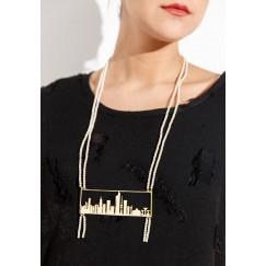 Kuwait Skyline Necklace